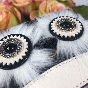 kate spade Accessories - Kate Spade Black White Penguin Card Holder Dashing